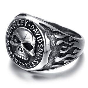 Other - Harley Davidson SS Willie G Skull Ring Unisex New